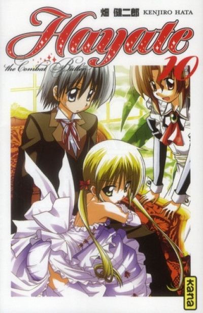 Couverture Hayate the combat butler tome 10