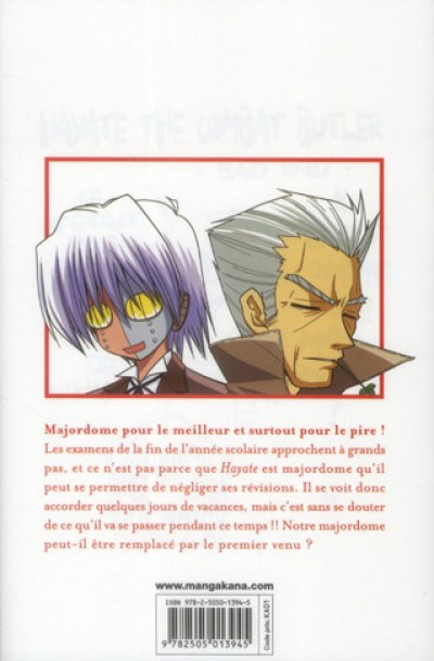 Dos Hayate the combat butler tome 10
