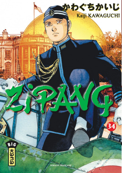 Couverture Zipang tome 34