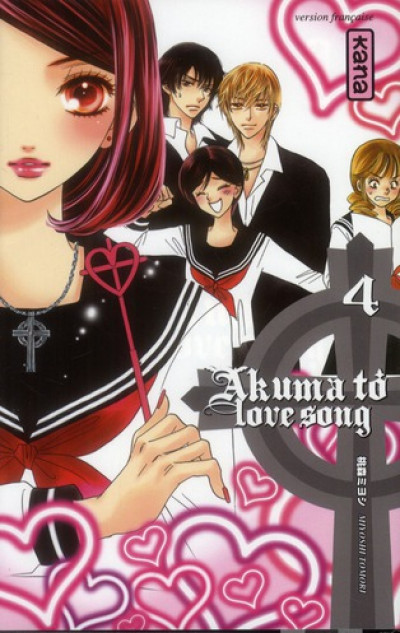 Couverture akuma to love song tome 4