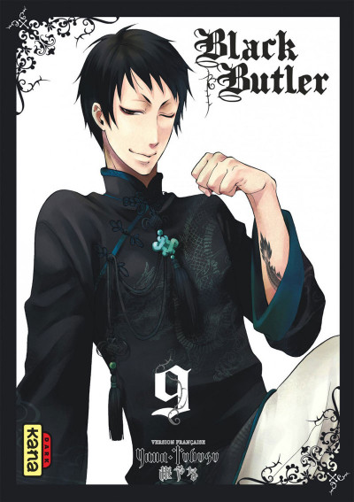 Couverture black butler tome 9