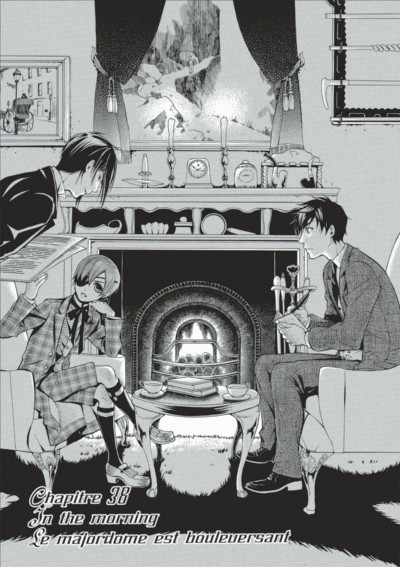 Page 3 black butler tome 9