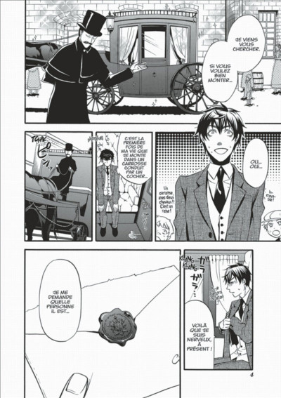 Page 4 black butler tome 9
