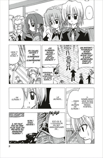Page 9 hayate the combat butler tome 11