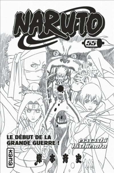 Page 3 Naruto tome 55