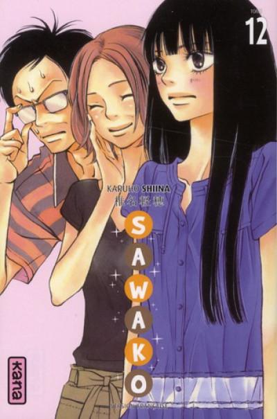 Couverture sawako tome 12