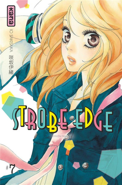 Couverture strobe edge tome 7