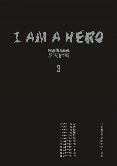 Page 4 I am a hero tome 3