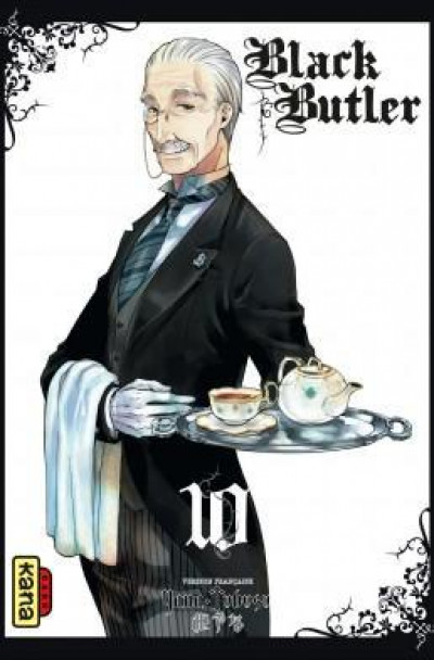 Couverture black butler tome 10
