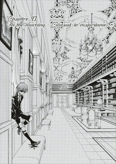 Page 3 black butler tome 10