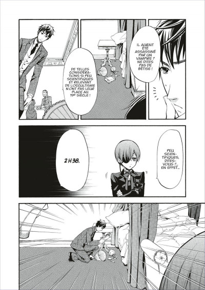 Page 8 black butler tome 10