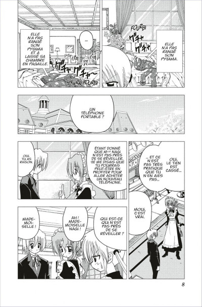 Page 8 hayate the combat butler tome 13