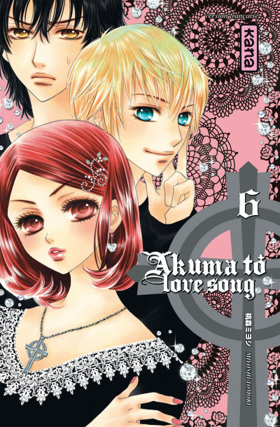 Couverture akuma to love song tome 6