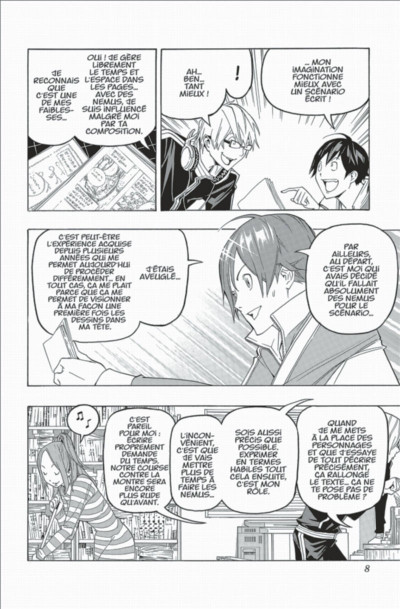 Page 8 bakuman tome 11