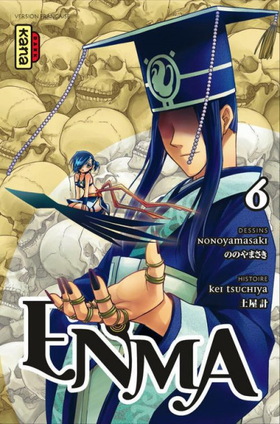 Couverture enma tome 6
