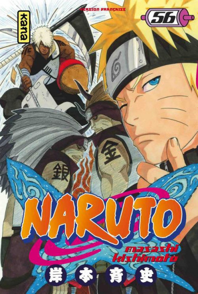 Couverture Naruto tome 56