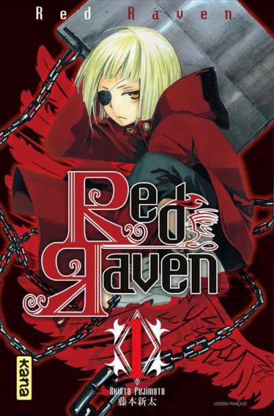 Couverture red raven tome 1