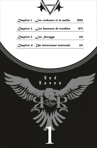 Page 4 red raven tome 1