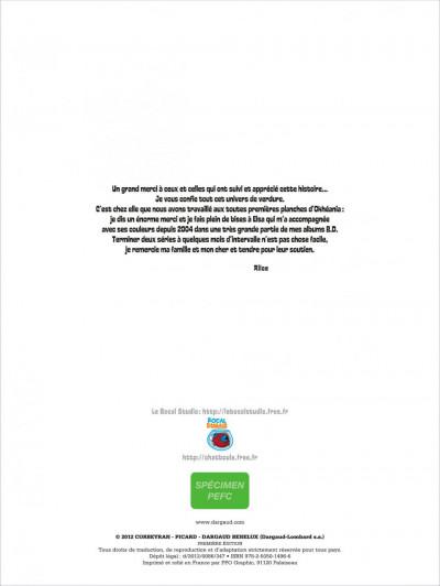 Page 1 okheania tome 5 - La clairière