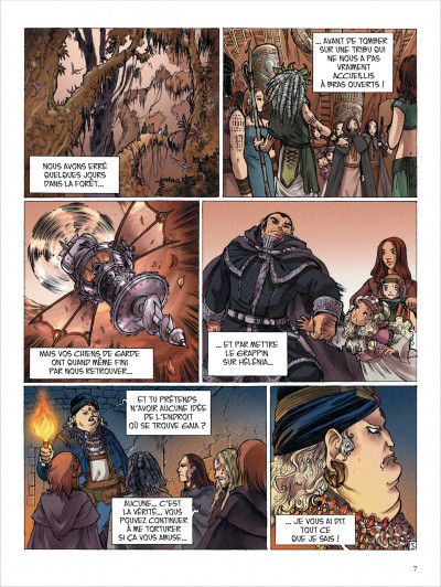 Page 7 okheania tome 5 - La clairière