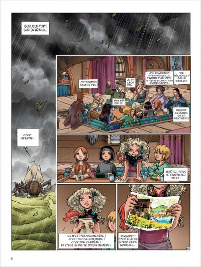 Page 8 okheania tome 5 - La clairière