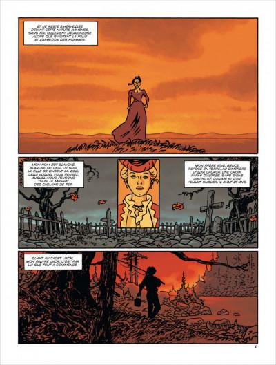 Page 2 Loup de pluie tome 1