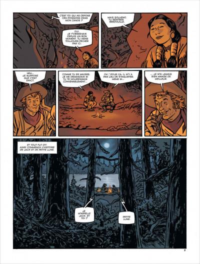 Page 4 Loup de pluie tome 1