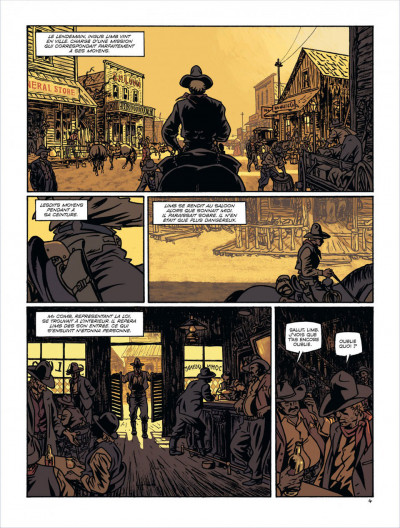 Page 5 Loup de pluie tome 1