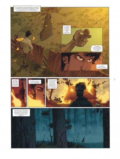 Page 5 sortilèges tome 1 - cycle 1 livre 1