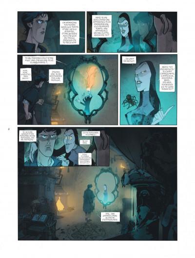 Page 8 sortilèges tome 1 - cycle 1 livre 1