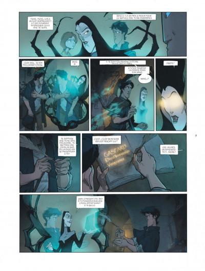 Page 9 sortilèges tome 1 - cycle 1 livre 1