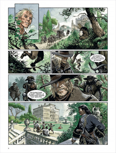 Page 2 Le scorpion tome 10