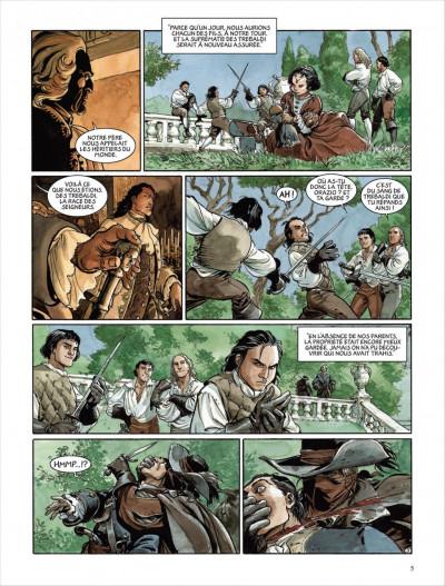 Page 3 Le scorpion tome 10
