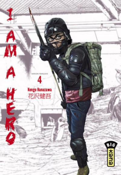 Couverture I am a hero tome 4