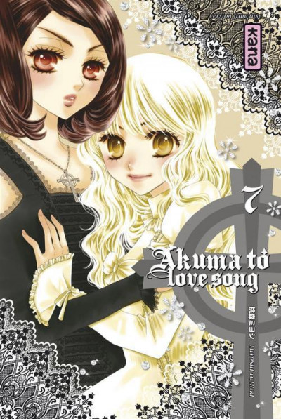 Couverture Akuma to love song tome 7