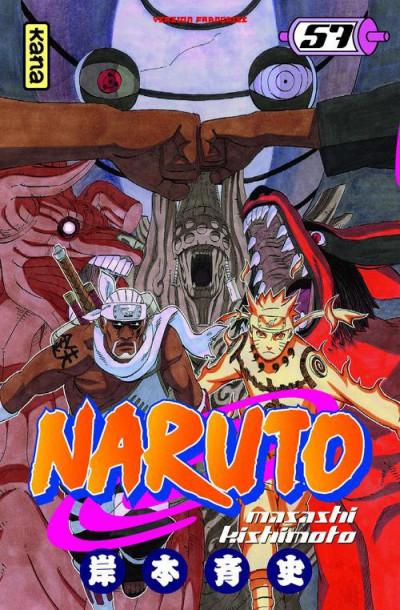 Couverture Naruto tome 57