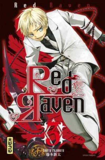 Couverture red raven tome 3