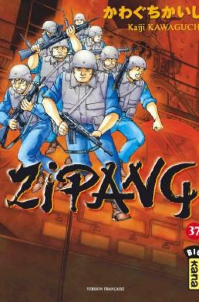 Couverture Zipang tome 37