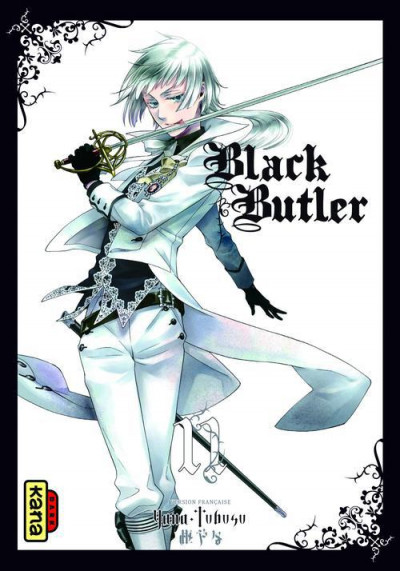 Couverture black butler tome 11