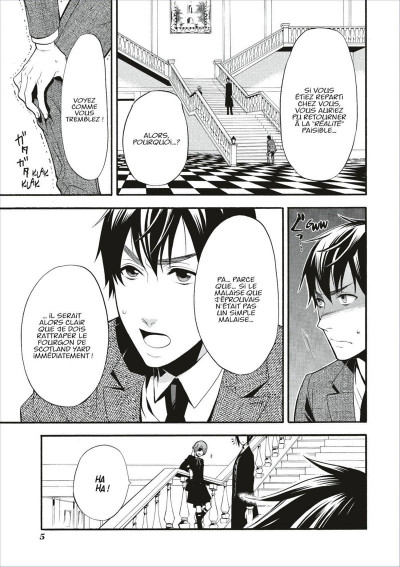 Page 5 black butler tome 11