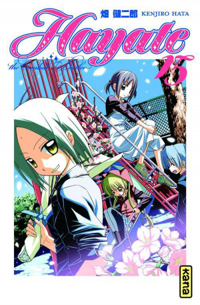 Couverture Hayate the combat butler tome 15