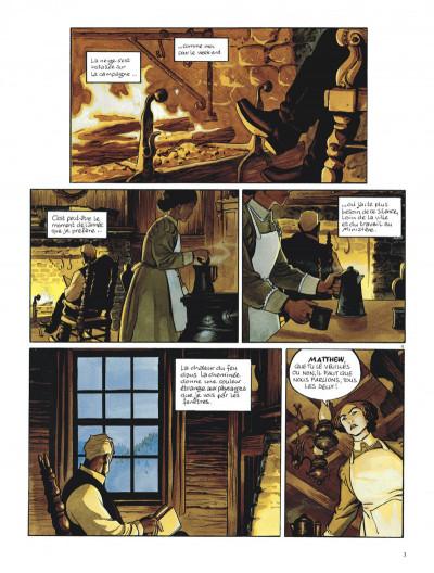 Page 3 L'étoile du desert tome 1