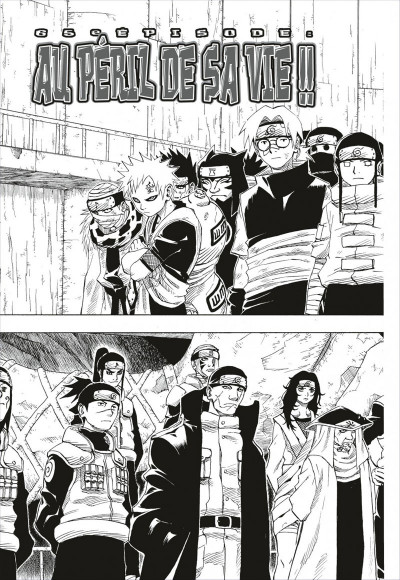 Page 9 naruto tome 3 - édition collector 10 ans