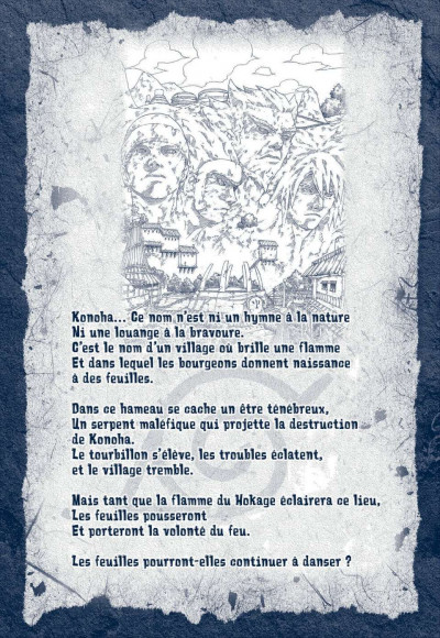 Page 1 naruto tome 4 - édition collector 10 ans