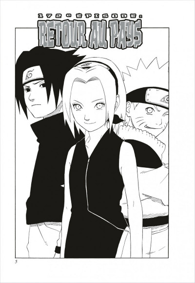 Page 5 naruto tome 6 - édition collector 10 ans