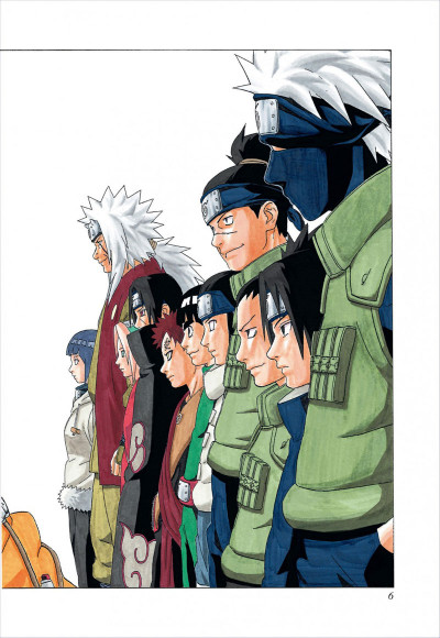 Page 6 naruto tome 7 - édition collector 10 ans