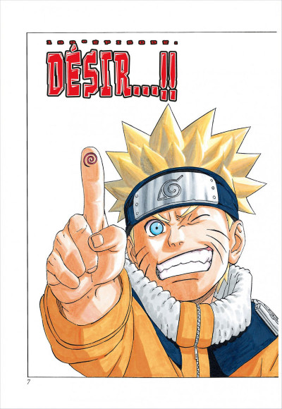 Page 7 naruto tome 7 - édition collector 10 ans