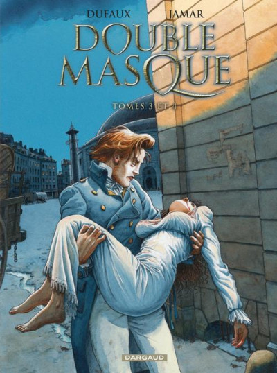 Couverture double masque - intégrale tome 2 - tome 3 et tome 4