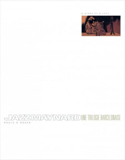 Page 2 Jazz Maynard - intégrale tome 1 à tome 3