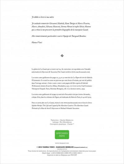 Page 3 la Casati ; la muse egoïste